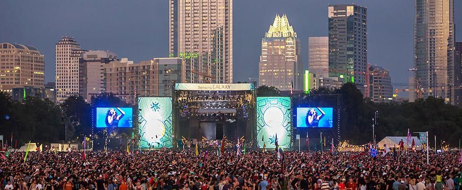 Austin City Limits by Ralph Arvesen
